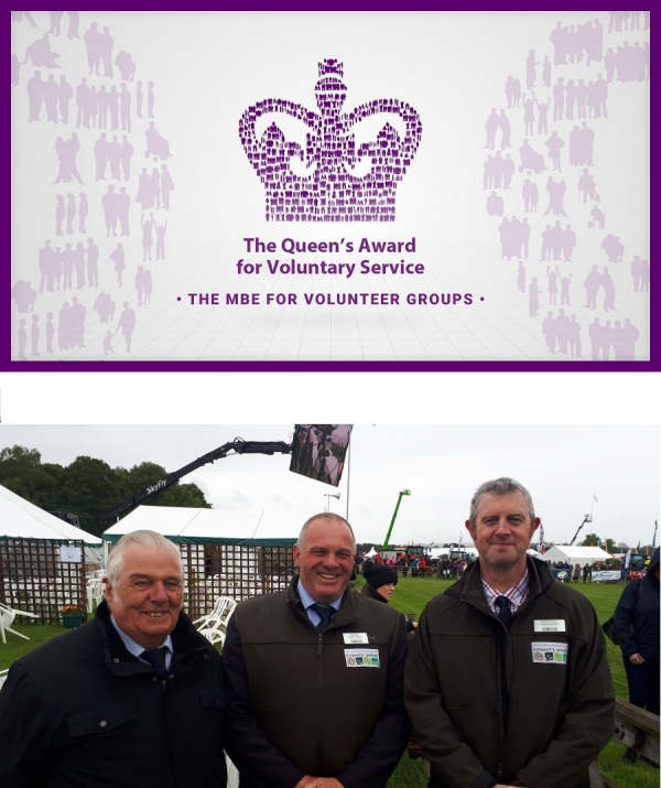 Tynedale Agricultural Society receives the Queen's Award for Voluntary Service